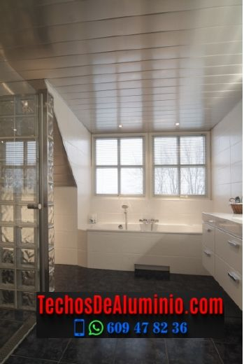 Techos de aluminio en Santa Eulàlia de Ronçana