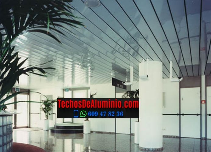 Techos de aluminio en Santiago del Campo