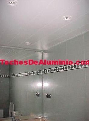 Techos de aluminio en Saúca