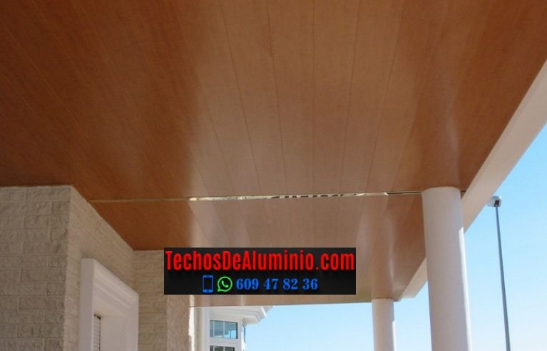 Techos de aluminio en Seva