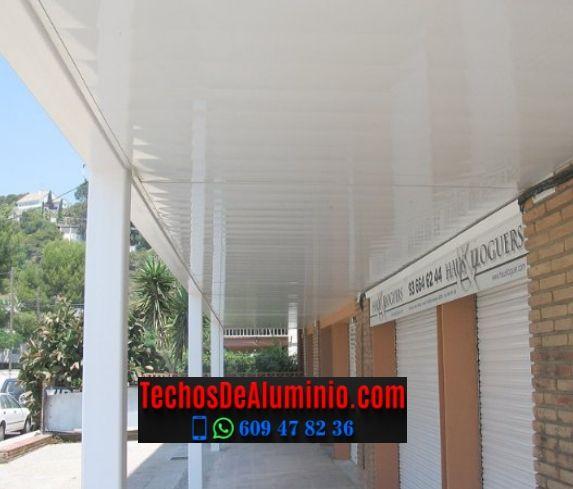 Techos de aluminio en Tagamanent
