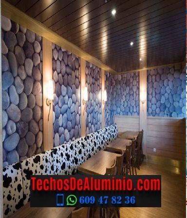 Techos de aluminio en Torre de Don Miguel