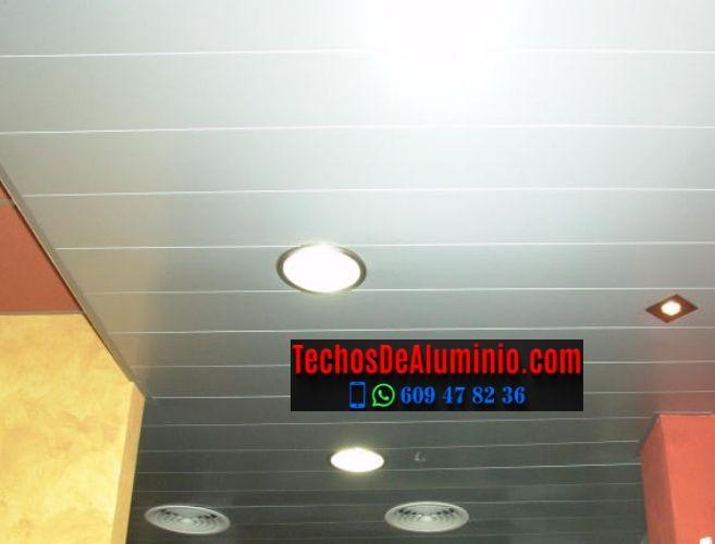 Techos de aluminio en Torremocha