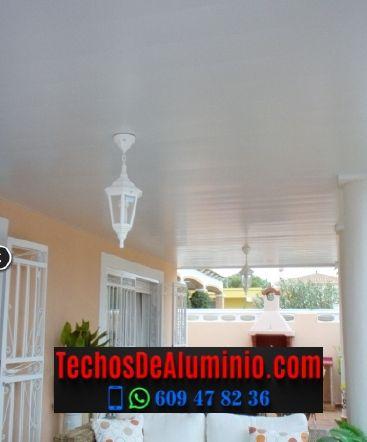 Techos de aluminio en Torreorgaz