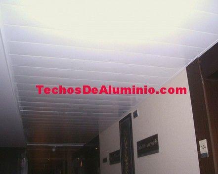 Techos de aluminio en Urnieta