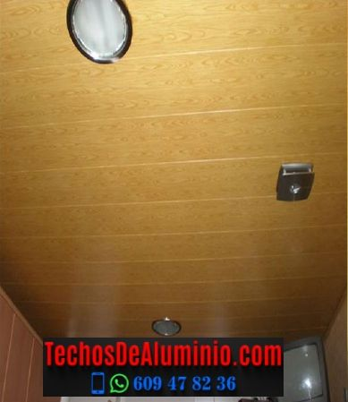 Techos de aluminio en Valdastillas