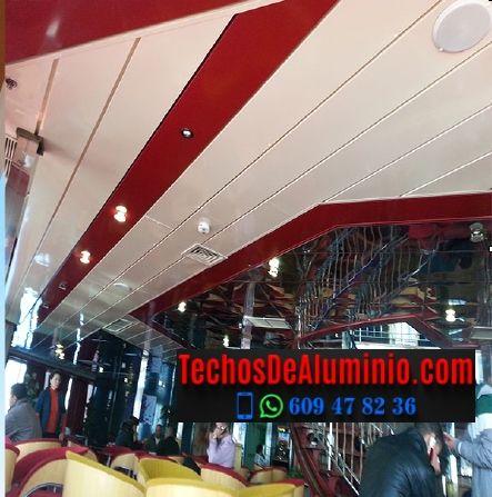 Techos de aluminio en Valdelacasa de Tajo