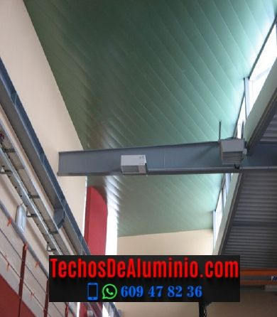 Techos de aluminio en Viandar de la Vera