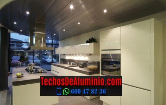 Techos de aluminio en Vilada