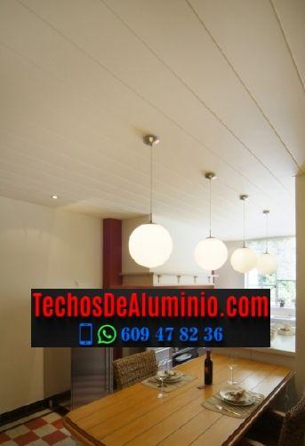 Techos de aluminio en Viver i Serrateix