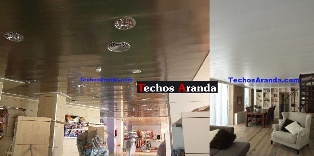Venta de falsos falsos techos de aluminio en Andorra