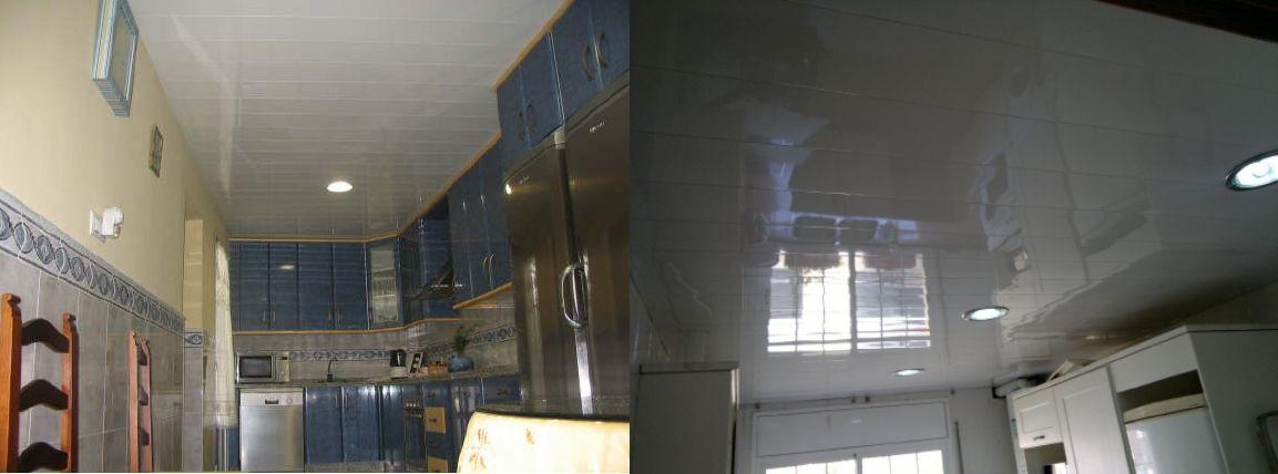 Venta de falsos techos de aluminio en Alhaurín el Grande