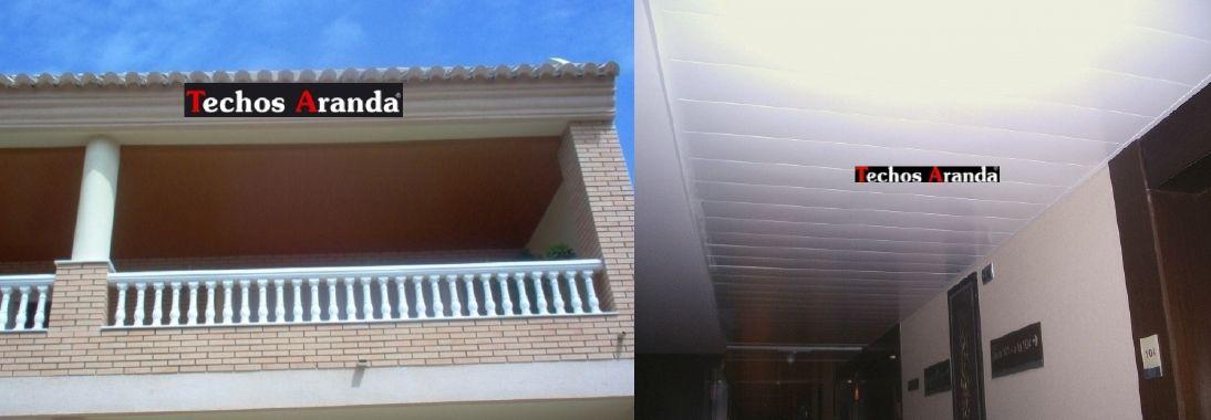 Venta de falsos techos de aluminio en Almansa
