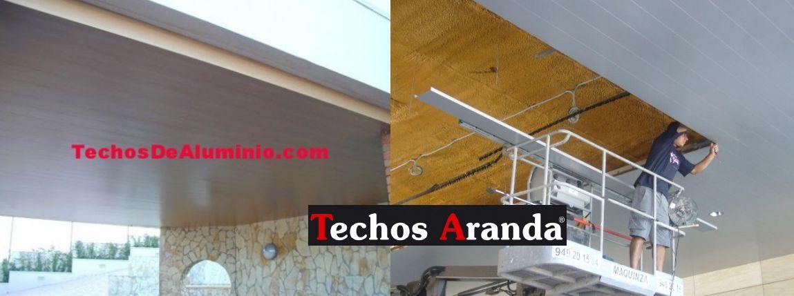 Venta de falsos techos de aluminio en Jumilla