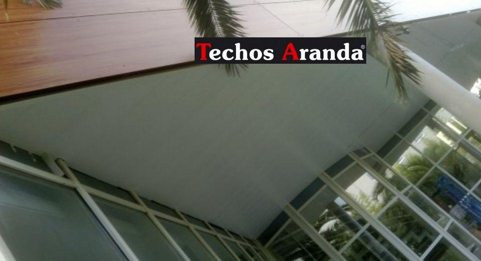 Venta de falsos techos de aluminio en La Oliva