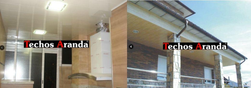 Venta de falsos techos de aluminio en La Rinconada