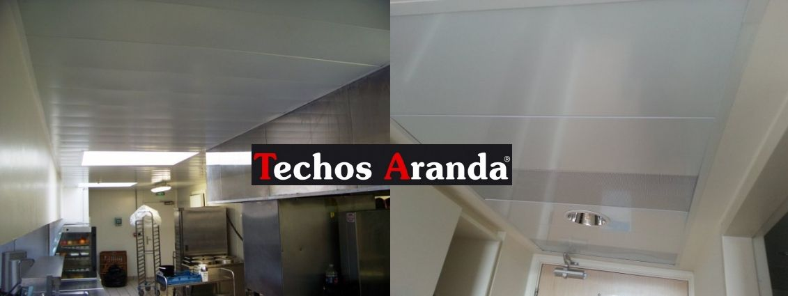 Venta de falsos techos de aluminio en Navalcarnero