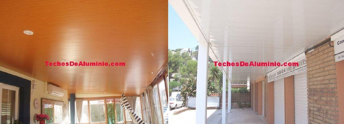 Venta de falsos techos de aluminio en Palma de Mallorca