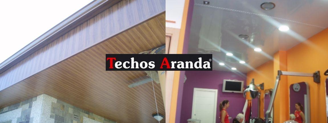 Venta de falsos techos de aluminio en Puebla de Vallbona