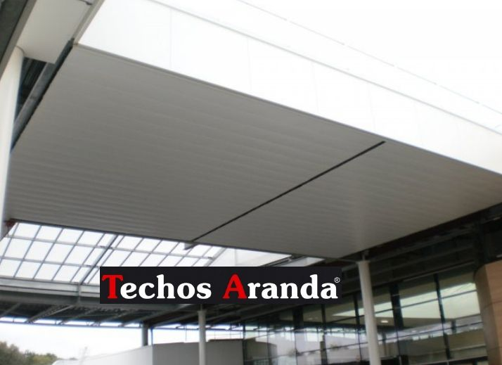 Venta de falsos techos de aluminio en San Sebastián