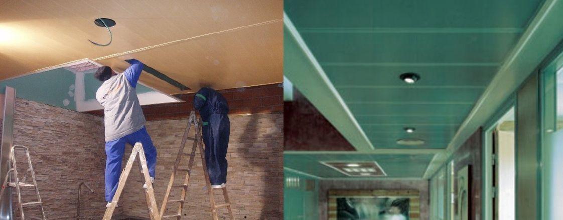 Venta de falsos techos de aluminio en Torrelavega