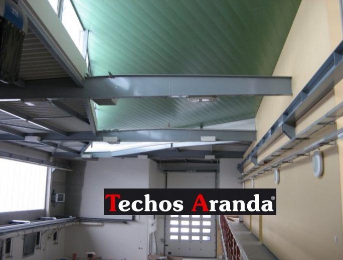 Venta de techos de aluminio en Alboraya
