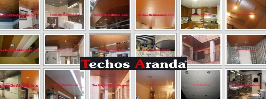 Venta de techos de aluminio en Alcalá de Henares