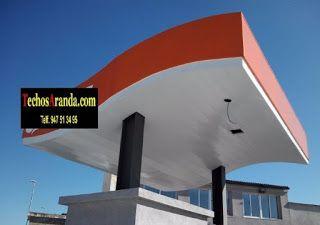 Venta de techos de aluminio en Alcantarilla