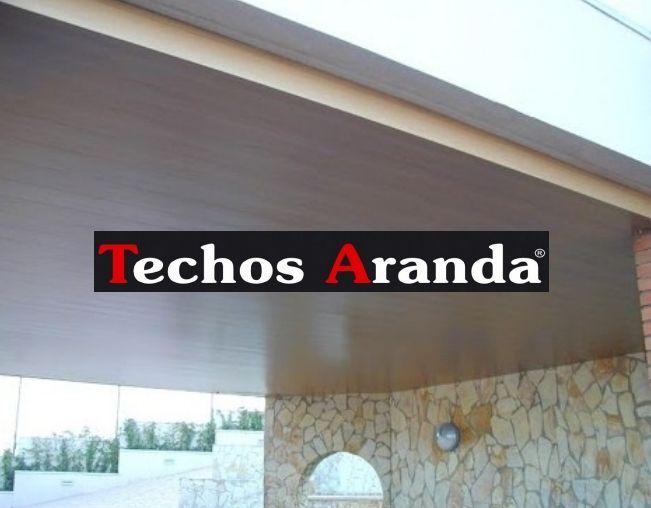 Venta de techos de aluminio en Alcira