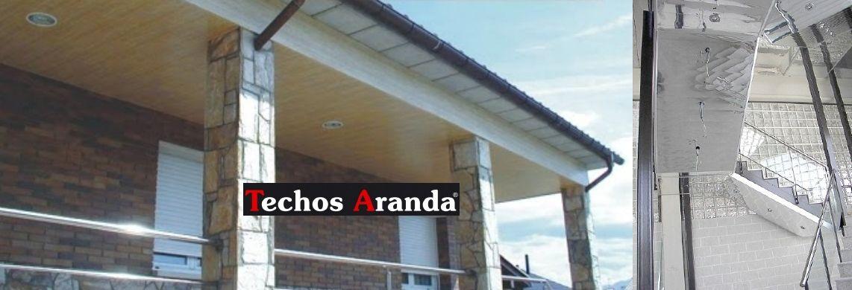 Venta de techos de aluminio en Cáceres