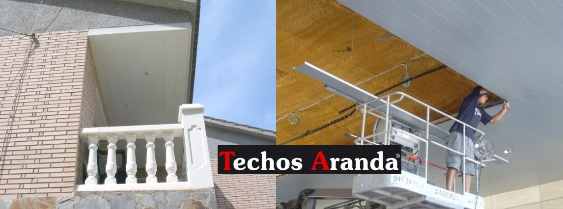 Venta de techos de aluminio en Carmona