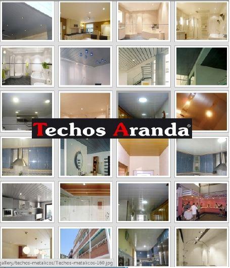 Venta de techos de aluminio en Granada
