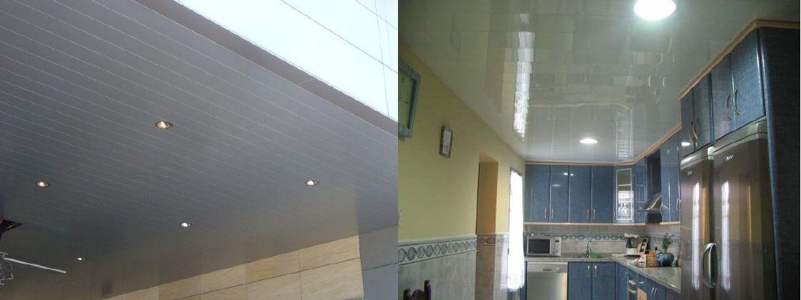 Venta de techos de aluminio en Guecho
