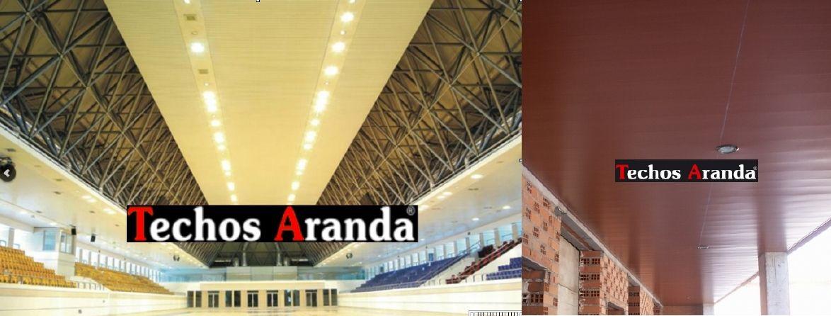 Venta de techos de aluminio en La Oliva