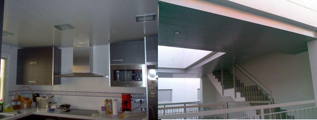 Venta de techos de aluminio en Manises