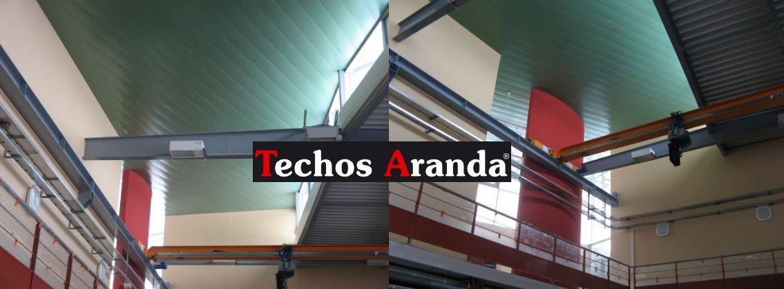 Venta de techos de aluminio en Medina del Campo