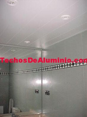 Venta de techos de aluminio en Mieres