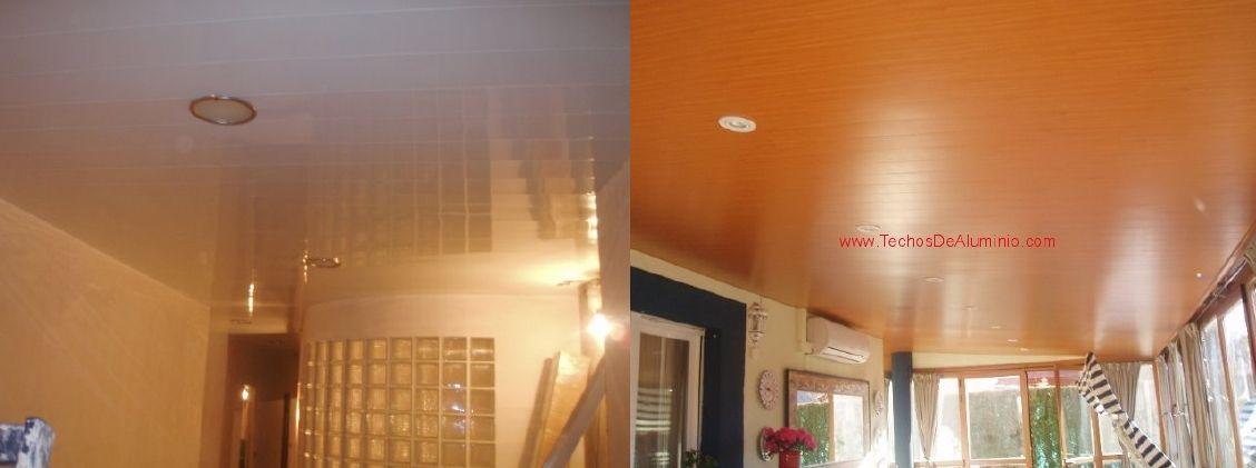 Venta de techos de aluminio en Tarrasa