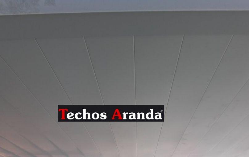 Venta de techos de aluminio en Teruel