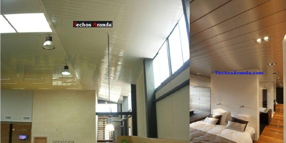Venta de techos de aluminio en Villarrobledo
